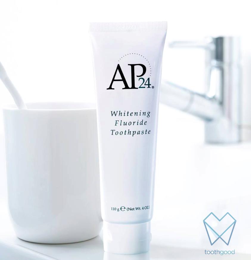 Using Ap24 Whitening Toothpaste Toothgood